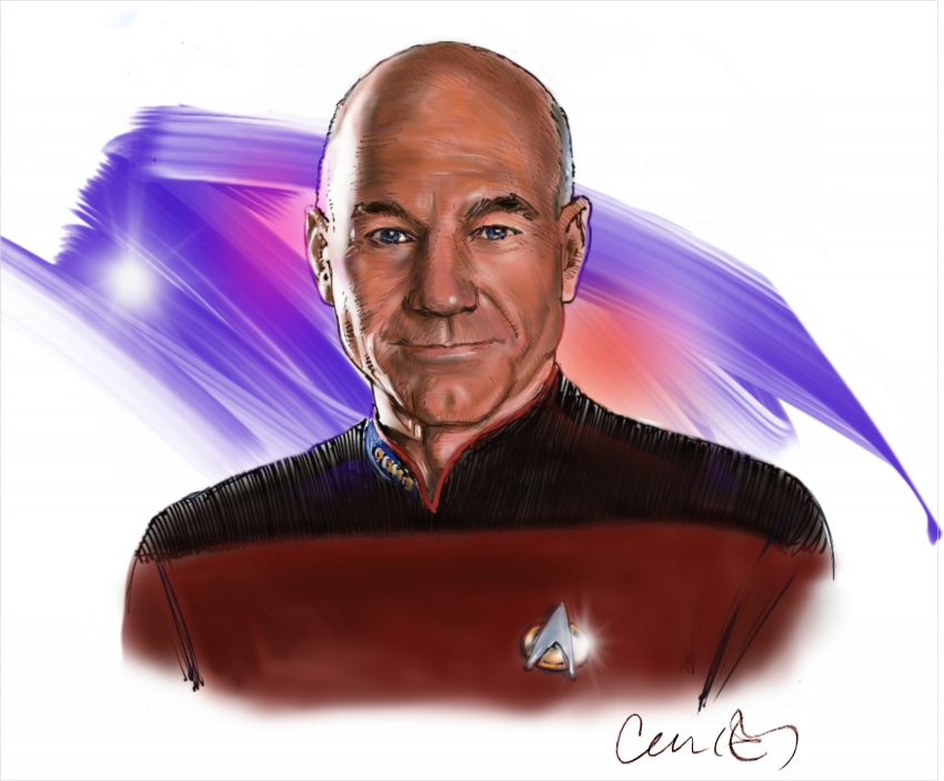Patrick Stewart by Roger_Curley